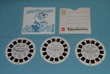 MIGHTY MOUSE VIEW-MASTER REELS (3-reel set with booklet and front cover only)