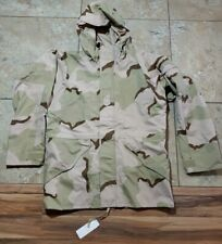 NWT GORE-TEX ECWCS Parka JACKET CAMO PARKA COLD WEATHER DESERT CAMOUFLAGE M Long