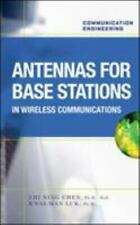 Antennas for Base Stations : In Wireless Communications by K. M. Luk, Zhi...
