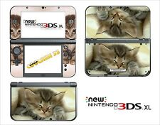 SKIN DECAL STICKER - NINTENDO NEW 3DS XL - REF 40 KITTEN