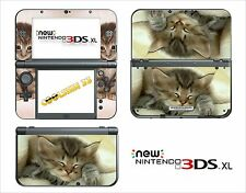 SKIN STICKER AUTOCOLLANT - NINTENDO NEW 3DS XL - REF 40 CHATON