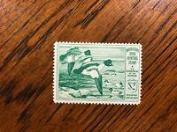 RW 16 1949 $2.00 Goldeneye Ducks Duck Stamp, Mint Never Hinged