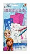 Disney Frozen Die Eiskönigin Schablonenbuch Bastelbuch Malbuch Sticker Schablone