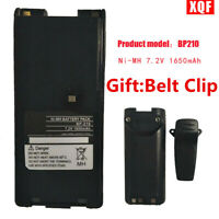 BP-210N/210 BP-209N Battery for ICOM IC-V8 F21 IC-V82 IC-A6 IC-A2 Walkie Talkie