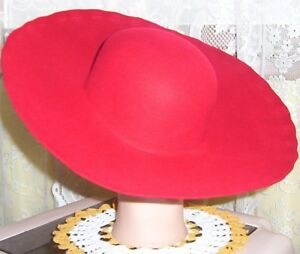 Pioneer, Pirate or Renaissance Hat blanks in 4 colors