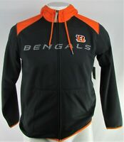 Cincinnati Bengals NFL Men's Full-Zip Hooded Track Jacket