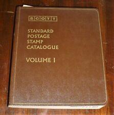 1972 Scott Standard Postage Stamp Catalogue Volume 1