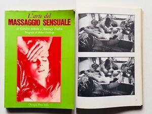 Inkeles Todris L'arte del massaggio sensuale Olympia Press 1974 erotismo erotico