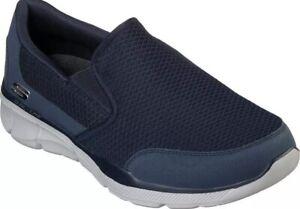 Skechers Equalizer Bluegate Shoe Sz 9.5 Navy 52984S NIB