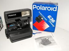 """Polaroid Close Up 636 Instant Camera As New In Box Working & Tested """"L@@k"""""""