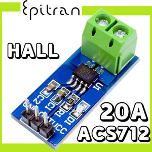 Modulo sensore di corrente ACS712 20A effetto Hall amperometro shield Arduino