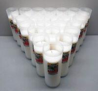 12x Ersatzkerzen 17cm Kerzen Grablampe Grableuchte  Grablicht Tagesbrenner
