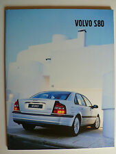 Prospekt Volvo S 80, 2.2002, 72 Seiten