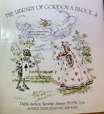 Library of Gordon A Block, Jr 1974 & Graphic Americana 1973 Sotheby's Auctions