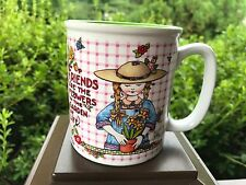 Mary Engelbreit Friends Are The Flowers In The Garden of Life Coffee Mug