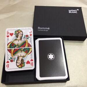 MONTBLANC SET OF 2 PLAYING CARDS - SEALED