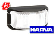 NARVA LED FRONT END OUTLINE MARKER LAMP WHITE TRAILER LIGHT 9V-33V 91612