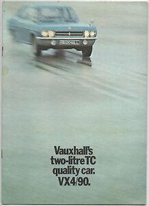 1971 Vauxhall VX 4/90 (FD model) brochure