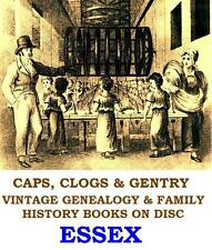 Essex Genealogy 38 Vintage Books on Disc Colchester East Anglia Topo History