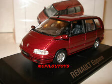 NOREV RENAULT SPACE II WINE RED 1991/1995 au 1/43°