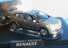 RENAULT MEGANE III PHASE 1 2008 BEIGE CENDRE NOREV 7711425974 1/43 EN ZAMAK