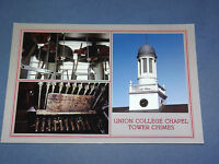 VINTAGE UNION COLLEGE CHAPEL TOWER CHIMES SCHENECTADY     NEW YORK   POSTCARD