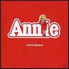 ANNIE - BROADWAY CAST SOUNDTRACK CD (BONUS Trax) *NEW*