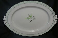 "Narumi Southwind Large 17 3/4"" x 12 1/4"" Oval Serving Platter"