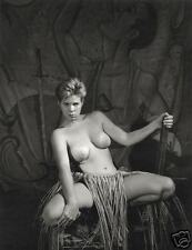 """Nude Circus Gal #2"" Fine Art 8x10 Silver Gel Photo"