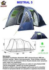 Tenda igloo MISTRAL 5 + CANOPY Nova Outdoor