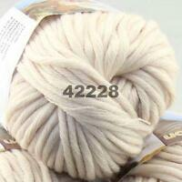SALE 1 Ball X 50g Special Thick Chunky Worsted 100% Cotton HAND Knitting Yarn 28