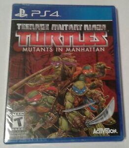 Teenage Mutant Ninja Turtles: Mutants in Manhattan Sealed PS4