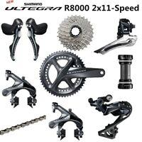 SHIMANO ULTEGRA R8000 Derailleurs ROAD Bicycle groupset 50-34 52-36 53-39