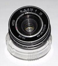 INDUSTAR 69 2.8/28 m39 f/2.8 28mm Wide Aangle M39 mirrorless infinity point