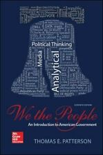 We the People by Thomas E. Patterson (2014, Paperback)