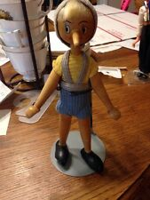 Vintage All Wood Pinocchio Doll Made in Poland 7""