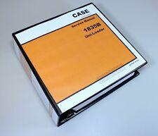 Case 1835b Uni Loader Service Manual Technical Repair Shop Book Overhaul Binder