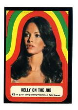 Topps 1978 Charlie's Angels Series 4 Sticker Card #42 Kelly On The Job