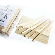 Balsa Wood Modelling Kit Set-(Shts,Rods & Blocks Various Sizes) BALSA WOOD CRAFT