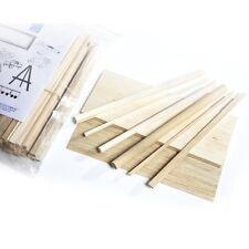 Balsa Wood Modelling Kit Set-(Shts,Rods & Blocks Various Sizes) BALSA WOOD CRAFT
