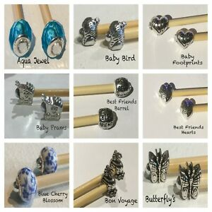 EUROPEAN CHARM BEADS, BUY 1 GET 1 FREE GREAT SELECTION