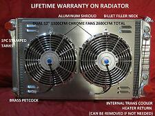 1967-1972 CHEVROLET/ GMC PICKUP, SUBURBAN ALUMINUM RADIATOR LIFETIME WARRANTY