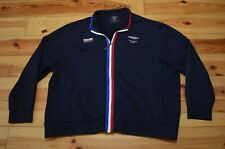 💎 ASTON MARTIN RACING BY HACKETT GB MENS BLUE TRACKSUIT TOP JACKET GOOD SIZE 3X