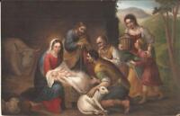 ART:  Bartolomé Esteban Murillo - Adoration of the Shepherds - Rome, ITALY
