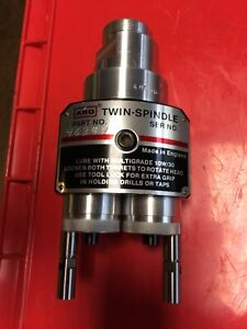 46394, 2-Spindle ARO Twin Head, Adj, for 8245 or 8248 Self Feed Air Drill,   NEW