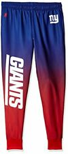 Forever Collectibles NFL Men's New York Giants Polyester Gradient Jogger Pants