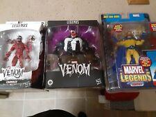 Marvel Legends Series Deluxe Venom Exclusive plus Carnage and Toybiz Sentry