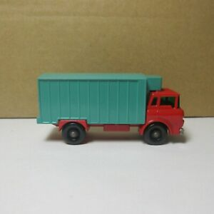 OLD DIECAST LESNEY MATCHBOX NO. 44 REFRIGERATOR TRUCK 1967  MADE IN ENGLAND