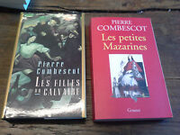 Pierre Combescot Les filles du calvaire + Les petites mazarines Lot de  2 livres