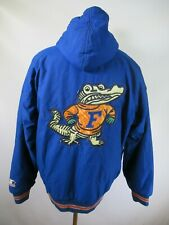 E9111 VTG 90s STARTER Florida Gators NCAA Hooded Parka Jacket Size M